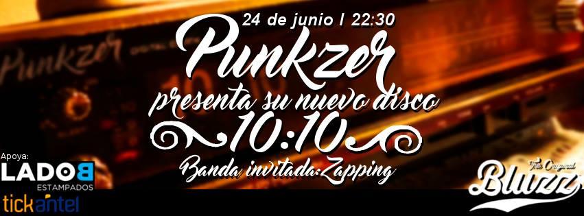 Punkzer Nuevo Disco en Bluzz Bar
