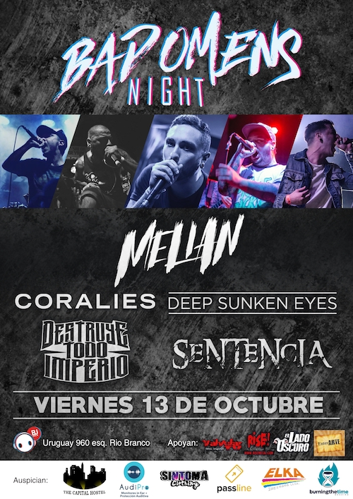 Copia de Afiche Bad Omens Nigth 2