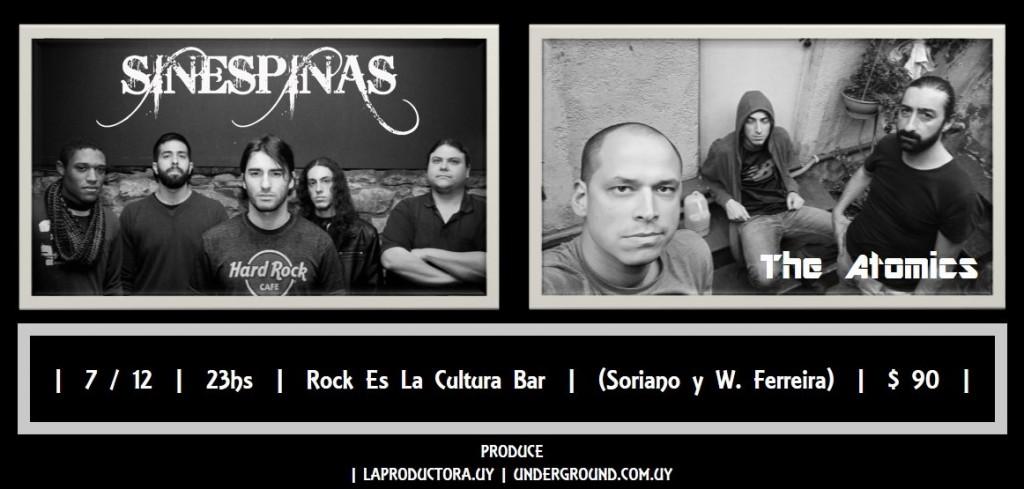 Show 7.12.17 Sin Espinas - Atomics