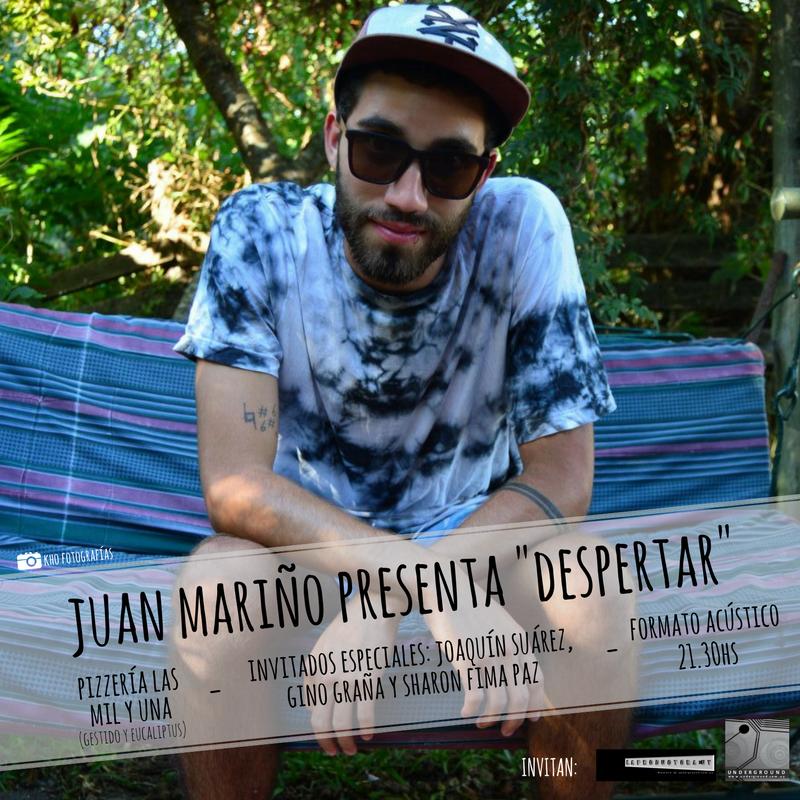 Afiche cuadrado show JM Mil y Una